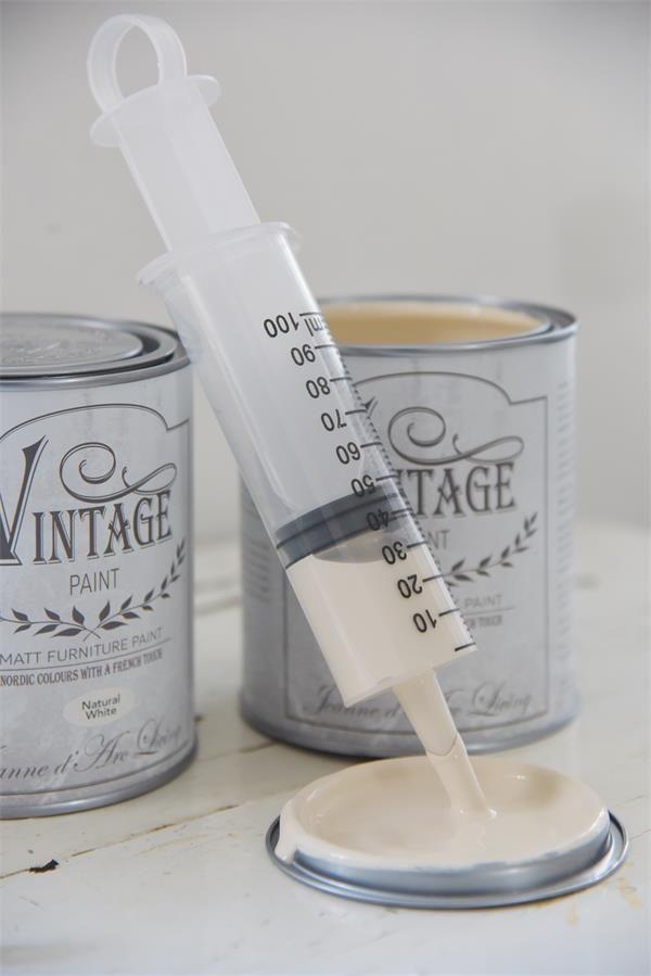 Vintage paint_siringa-dosatrice