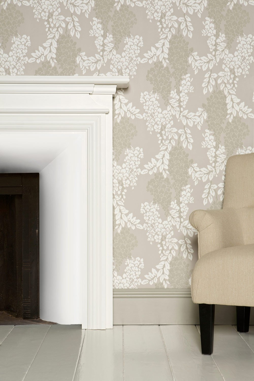 Carta Da Parati Verniciabile wisteria – carta da parati farrow and ball